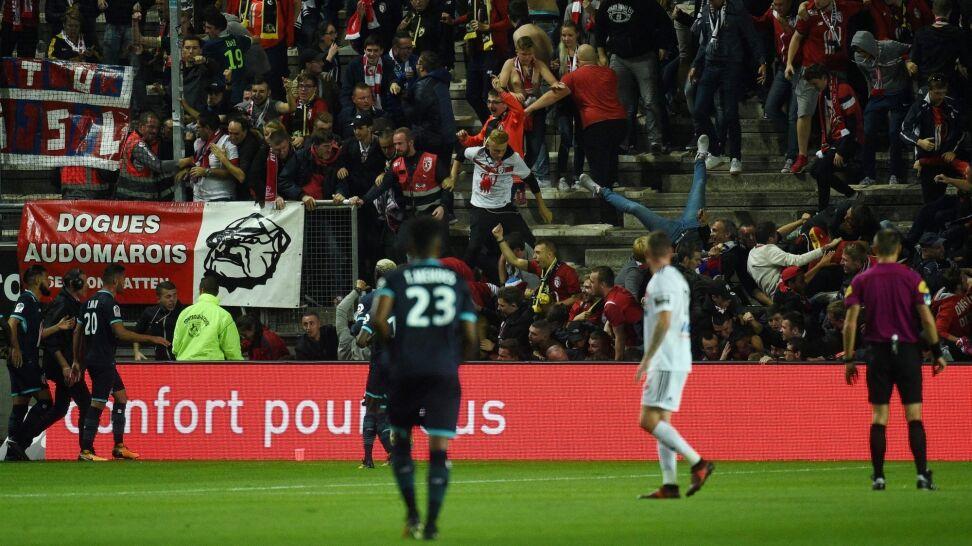 Francuski stadion zamknięty po wypadku z udziałem kibiców
