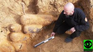 Przełomowe odkrycie archeologiczne. Znaleziska pilnuje policja