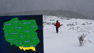 Niebezpiecznie w górach. Uwaga na intensywne opady śniegu