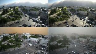 """Habub ogarnął rosyjskie miasto. """"Imponujący widok, ale zjawisko może być bardzo niebezpieczne"""""""