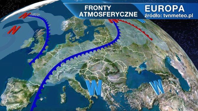 Pogodą w Polsce rządzi niż Jadranka
